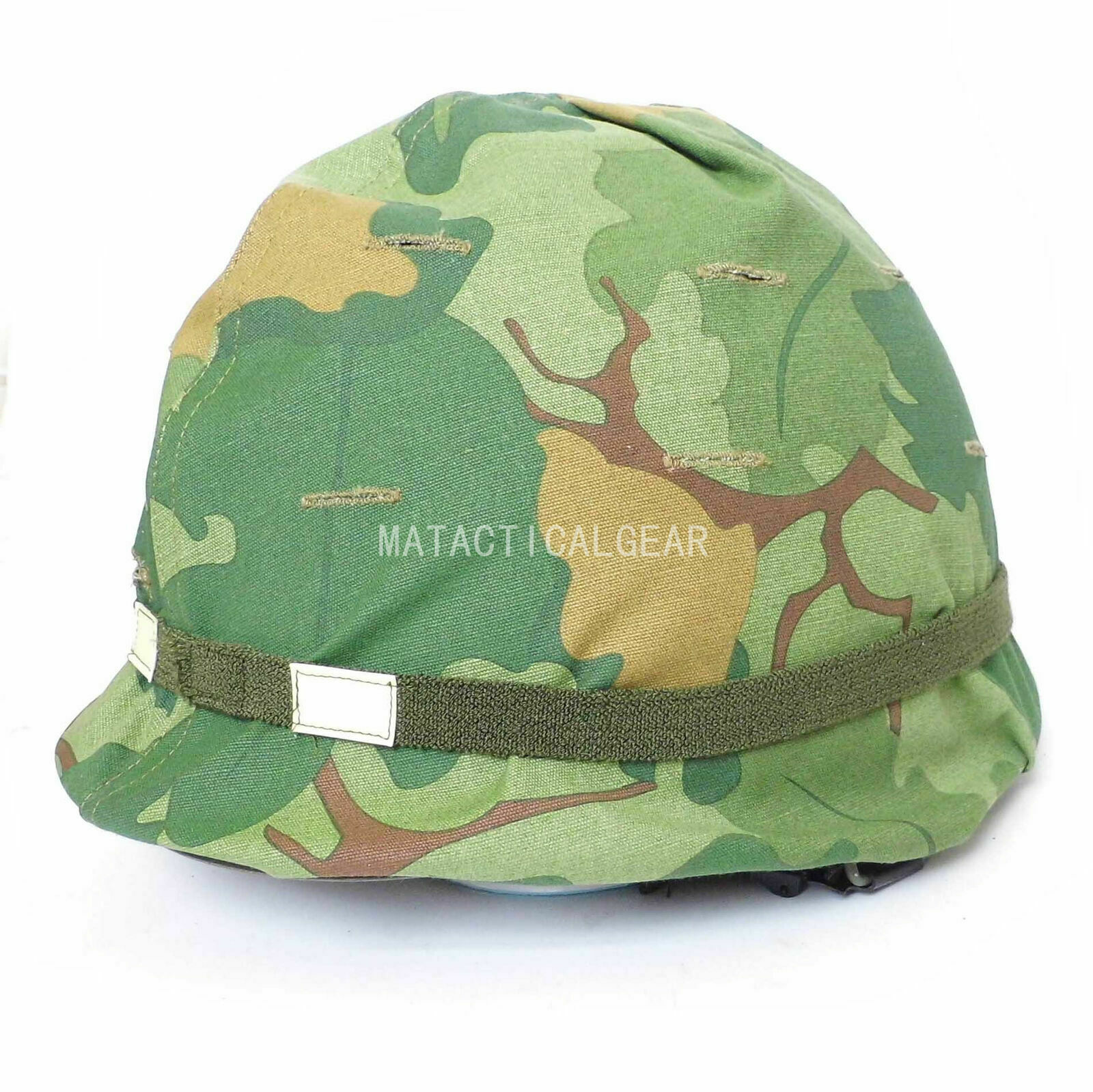 Vietnam War Us Army M1 Soldier Helmet Full Set With Mitchel Camouflage Cover Sports Souvenirs Aliexpress