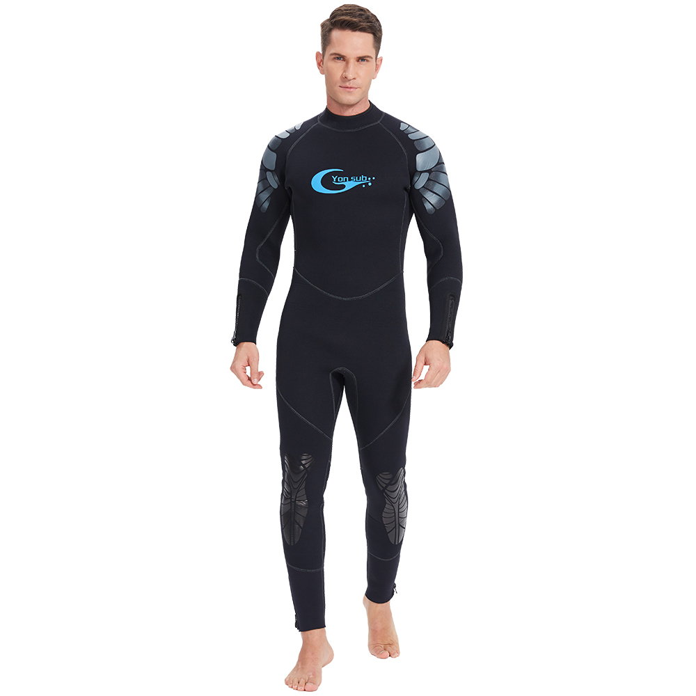 Free shipping  Luxury Diving Suit Warm The Pseudoelastic 3mm Surfing Clothes Winter Swimming Submersible