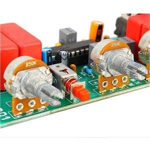 Image 5 - LM1036 Preamp  Amplifier Audio Tone Board Treble Bass Volume Control Adjustment Board DC/AC 12V B1 004