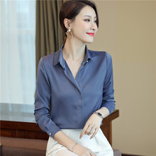 long Sleeve Blouse Female New Women's Shirt Classi