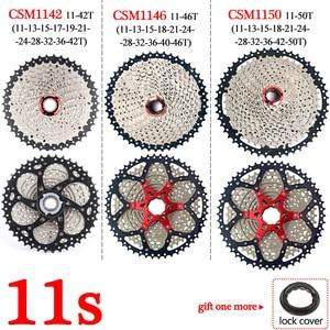 Image 5 - BOLANY Cassette de bicicleta de montaña 8s, 9s, 10s, 11 velocidades, piezas de bicicleta de montaña, Piñón 11 40/42/46/50T, desviador compatible con Shimano/SRAM