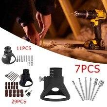 7/11/29Pcs Rotary Multi-Tool Electric Grinder Locator Drill Holder Drill Bits Drill Rotary Acces Grinding  Polishing For Dremels