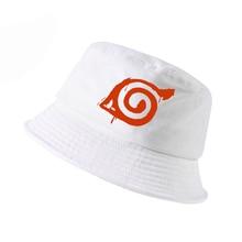 Anime Naruto kakashi fisherman hat Men Women Printing naruto cosplay bucket hat naruto Summer panama fishing cap