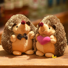 17cm cute soft hedgehog animal doll plush toy childrens family wedding party gift