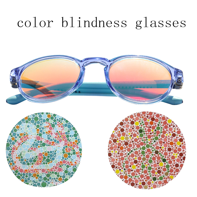 Color-blindness Glasses invisible Red Green Color Blind Glasses for kids boy girl Colorblind Invisible glasses for color blind