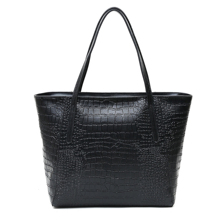 Women Shopping Bag Women Tote Bag Faux Leather Handbags Casual Ladies Shoulder Bags for Shopping Black Drop shipping metal ring faux leather embroidery tote bag