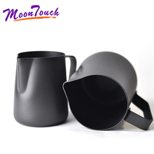350/600  Teflon black flowers cup 304 stainless steel coffee cup milk cup garland ml milk cylinder bgd296 5 stainles steel density cup 100cc ml specific gravity cup