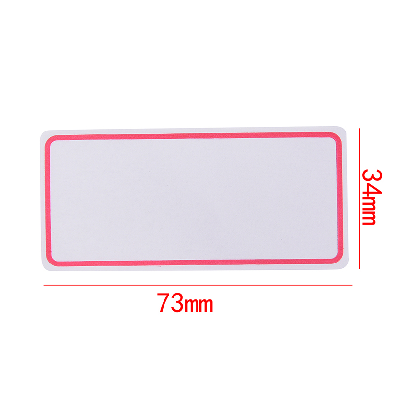 Write-On Index Tab Sticker Book In Notebook Notepad Stationery School Supply ZY
