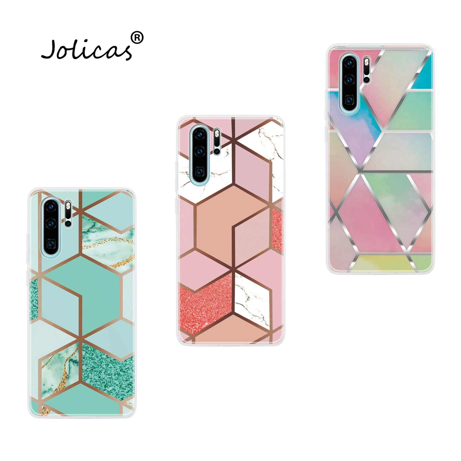 Marble Soft TPU Case For Huawei P30 Plus Lite Cell Phone Cover Huawei Y5 2019 Y7 P20 Pro coque Nova 3e 4E 5T 3i Y9 Prime 2018 Y6