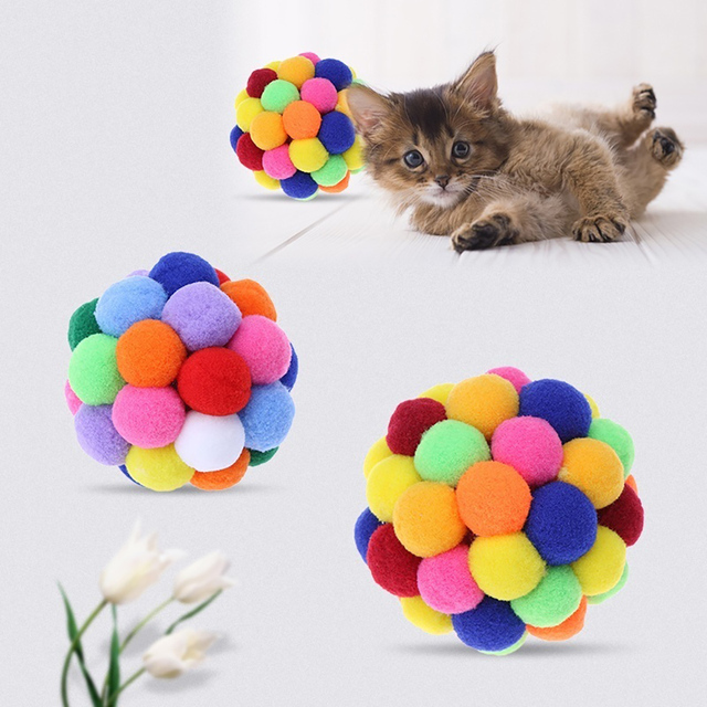 Plush Soft Funny Kitten Toy 4