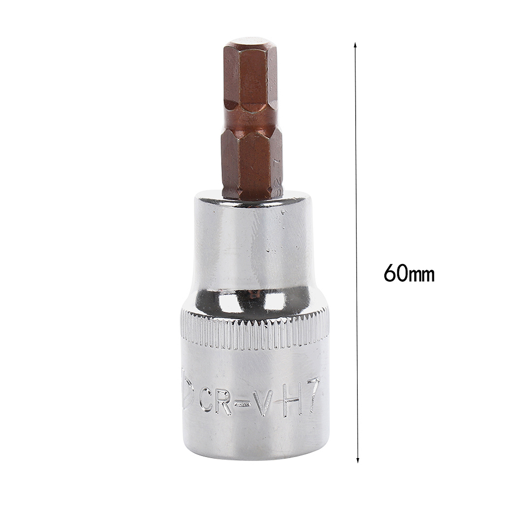 14mm 1/2 Inch Hexagon Screwdriver Bit Socket Drive Socket Corrosion Properties Socket Wrench