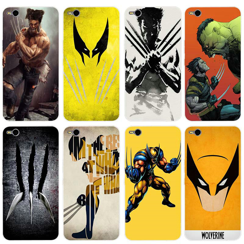 Silicone Soft Phone Cases for HTC U11 Desire 530 630 626 628 816 820 One A9 E9 M7 M8 M9 M10 Plus Wolverine Comics Xmen Hero image
