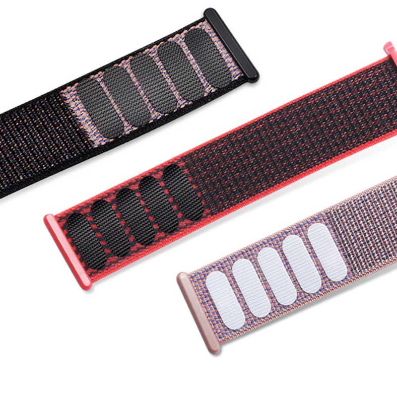 ניילון רצועת עבור אפל שעון 5 להקת 44mm 40mm עבור iWatch להקת 42mm 38mm ספורט לולאה רצועת השעון צמיד שעון 4 3 2 1 38 40 44mm
