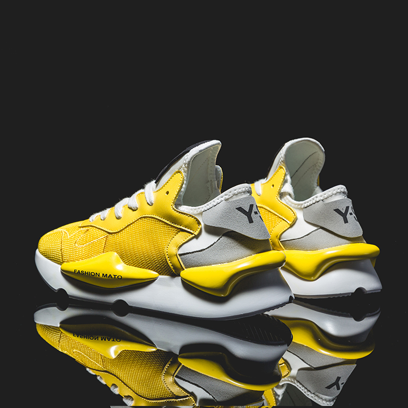 Sneakers For Men High Quality Lace-up Sports Shoes Comfortable Outdoor Trend Breathable Running Shoes Brand Hard-Wearing Women