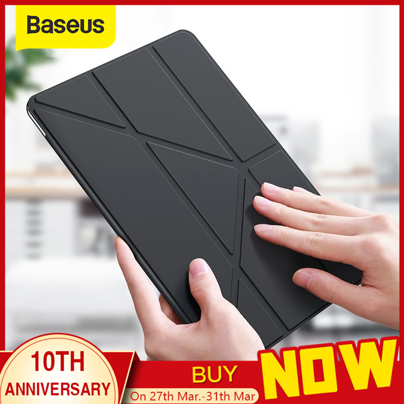 Baseus Smart Case For IPad 10.2 Inch 2019 7th Gen Lightweight Stand Case For IPad 10.2 Inch Auto Sleep Wake Full Protect Cover