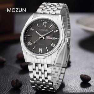 Image 4 - OUBAOER montre hommes mode Sport Quartz horloge hommes montres Top marque luxe affaires montre femmes reloj hombre Relogio Masculino