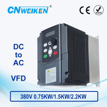 WK310 Vector Control frequency converter DC 400V-700V to 380V 0.75kw1.5kw2.2kw solar pump inverter with MPPT control