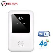 Wifi portátil móvel sem fio do roteador do modem 4g lte do cartão sim hotspot desbloqueado da banda larga dongle roteador wi-fi com entalhe do cartão do sim