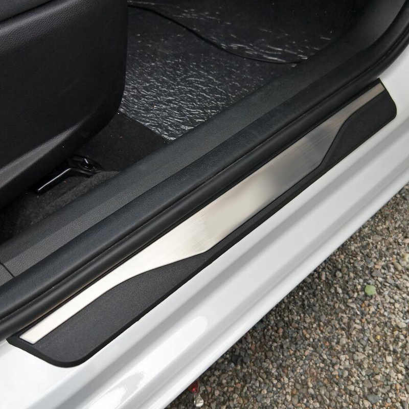 High quality Stainless Steel Door Sill Scuff Plate Welcome Pedal For LADA VESTA sw cross 2019 2018 2017 Car Styling Accessories