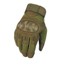Тактические перчатки для сенсорного экрана, армейские перчатки для альпинизма и стрельбы, перчатки на весь палец, Военные боевые перчатки для улицы