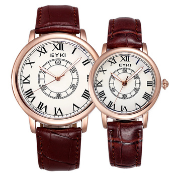 2020 New Men's and Women's Watches Leather Strap Fashion Personality Men and Women Quartz Watch Couple Watches Relogio Masculino fashion couple watches lovers watches leather strap date day quartz watches men women fashion casual watches relogio masculino