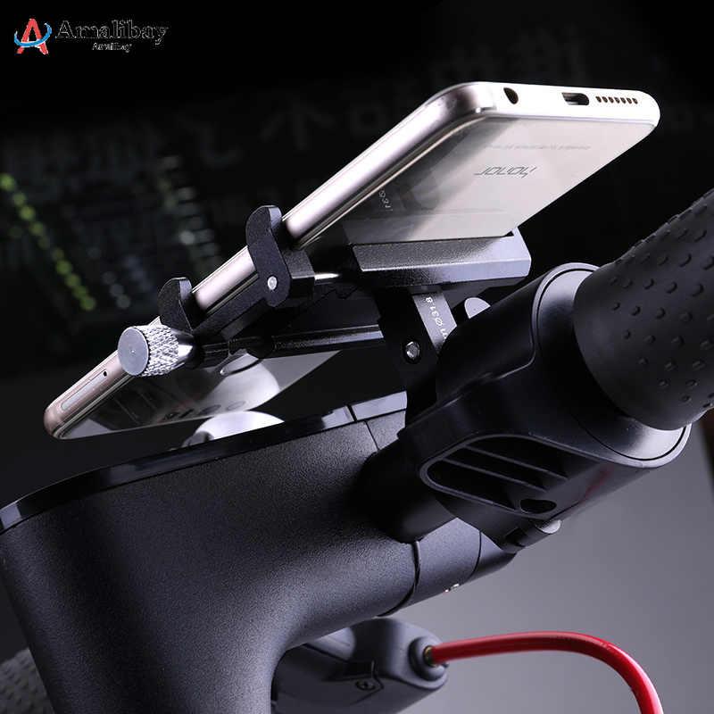 Scooter elettrico Del Telefono Del Supporto Del Basamento per Xiaomi M365 M187 Pro di Guida Della Bici Del Manubrio Staffa del Rack M365 Scooter Accessori