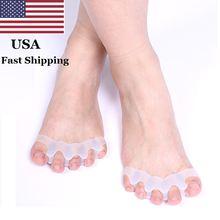 2 шт силиконовые разделители большого пальца ноги при вальгусной