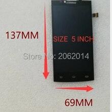 En Stock, pantalla LCD nueva de 5,0 pulgadas para Philips S398, pantalla LCD + repuesto de reparación de digitalizador de vidrio con Panel táctil con número de seguimiento