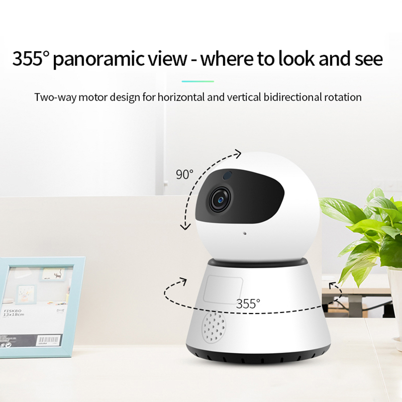 He539610b40cd46dab909c0ae43a45869l 720/1080P PTZ Wireless Mini IP Camera Move Detection Infrared Night Vision Home Security Surveillance Wifi Camera Cloud Service
