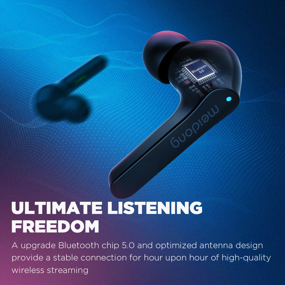 COWIN KY06[Upgraded] TWS Bluetooth V5.0 Earphones 3D Stereo Sports Wireless Headphones Waterproof Earbuds with Microphone