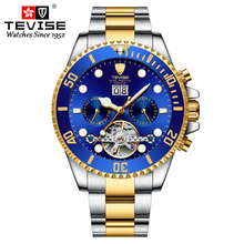 TEVISE 2020 Men's Watches Top Brand Luxu