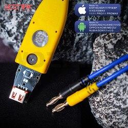 Mechanik iBoot Mini kabel zasilający linia testowa zestaw do pełnej obsługi iOS iPhone Android naprawa linii rozruchowej do naprawy płyty głównej w Zestawy elektronarzędzi od Narzędzia na