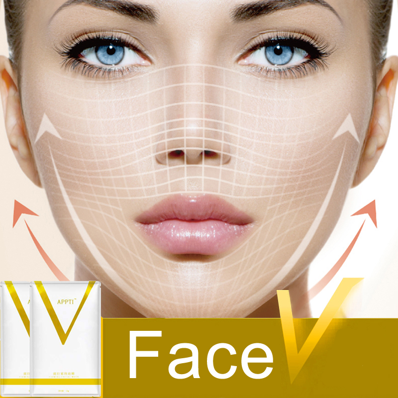Effective V Face Bandage Belt Facial Slimming Fat Burner Health Care Products Slim Anti Cellulite Sleep Detox Face Shaper Tool