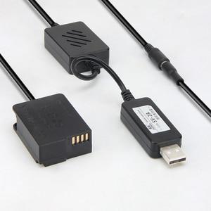Image 2 - Мобильный Внешний аккумулятор с usb кабелем и искусственной батареей для lumix DMC G6 G7 G5 GH2 GH2K GH2S G81 G85 FZ1000 FZ2500 FZ300 FZ200