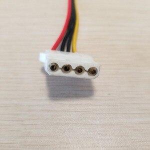 Image 2 - بطاقة جرافيكس 6Pin محول إلى 3 x 4Pin كابل الطاقة 18AWG للكمبيوتر DIY بها بنفسك 70 سنتيمتر
