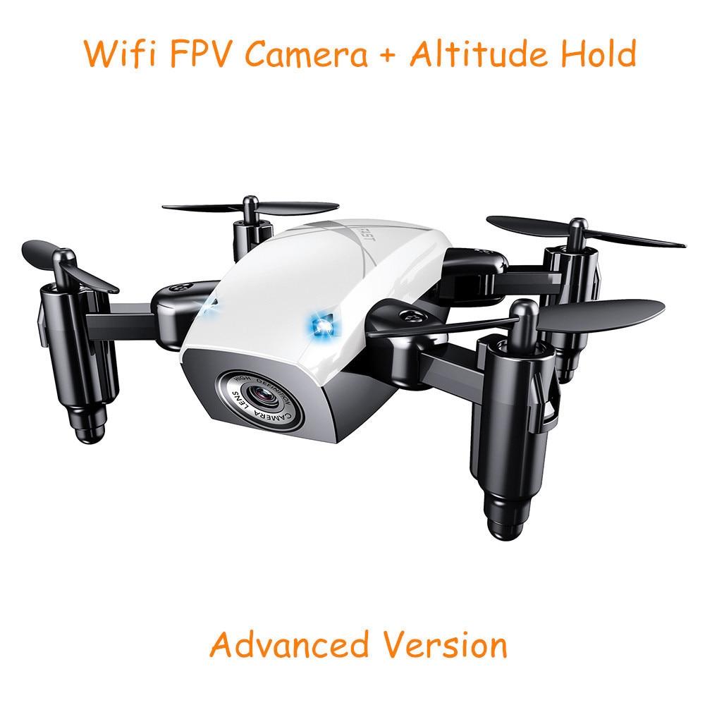 S9HW Mini Drone With Camera S9 No Camera RC Quadcopter Foldable Drones Altitude Hold RC Quadcopter WiFi FPV Pocket Dron VS CX10W