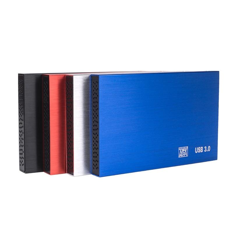 Metal-USB 3.0 2.5-Inch Portable Hard Drive Box Sata Serial Port SSD Solid State China Mobile External Hard Disk Box