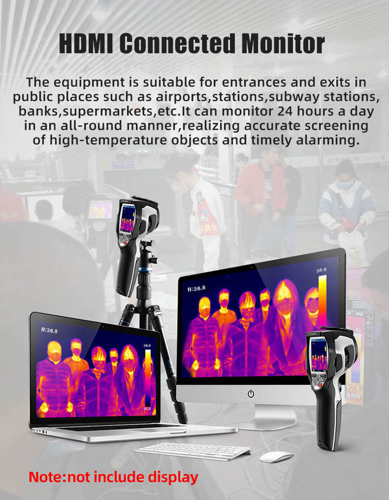 Infrared Thermal Camera With Live Streaming to Computer or TV Bluetooth For Human Body 11