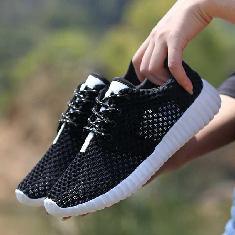 2020 ใหม่ตาข่ายรองเท้าผู้หญิงน้ำหนักเบาผู้หญิงรองเท้าผ้าใบสตรีรองเท้า Chaussure Femme Calzado Mujer PLUS ขนาด