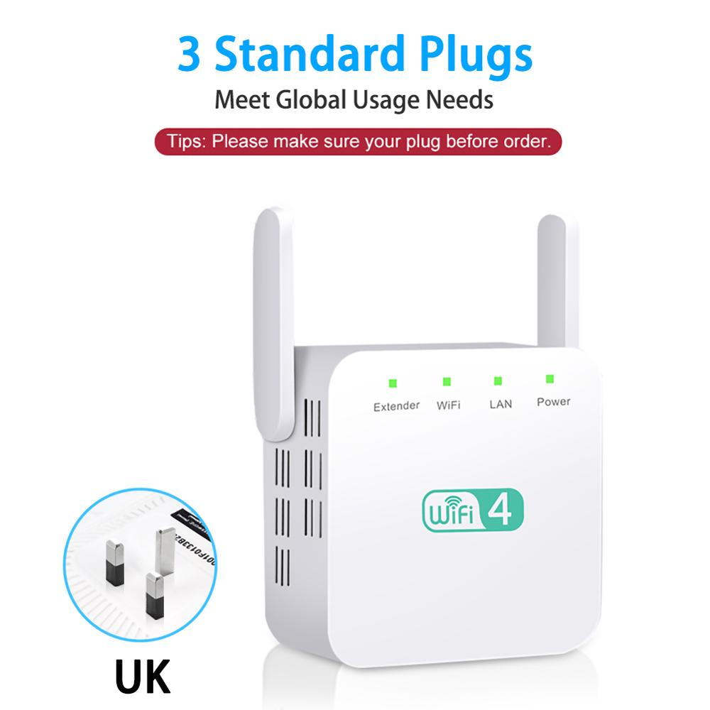 Wireless Wifi Repeater Wifi Remote Extender Wifi Signal Amplifier 300 Mbps 2.4Ghz Wi-Fi Enhancer Wi-Fi Repeater Support All Devi