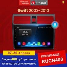 Junsun android 10.0 reprodutor multimídia para suzuki swift 2003-2005 2006 2007 2008-2010 rádio do carro ai controle de voz navegação 2 din