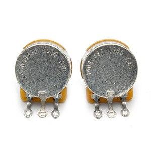 CTS Töpfe Melden Sie EINE oder Linear 250k/500k Messing/Aluminium Welle Volumen Ton Potentiometer für Elektrische gitarren