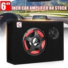 350W Car Digital Audio Subwoofers Amplifier Theater Amplifiers Under Seat Active Power Amplifier Powerful Bass Subwoofers Audio