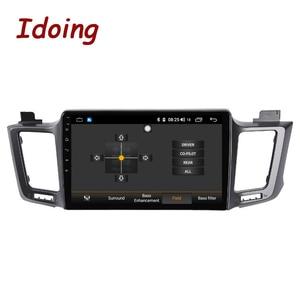 """Image 2 - Idoing 10.2 """"4G + 64G 8 Core Autoradio Android Multimedia Speler Voor Toyota RAV4 4 XA40 5 XA50 2012 2018 Gps Navigatie Geen 2din"""