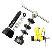 يوصي محمل الدراجة مركز الضغط تصاعد أداة إزالة الصواميل مجموعة إزالة التثبيت