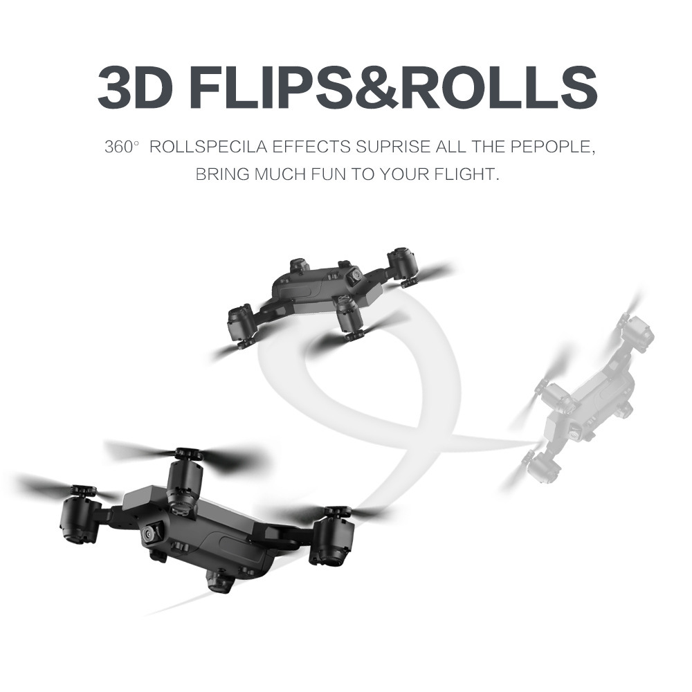 S20 Folding Remote Control Aircraft Mini Quadcopter WiFi Real-Time High-definition Unmanned Aerial Vehicle Aerial Photography Ro