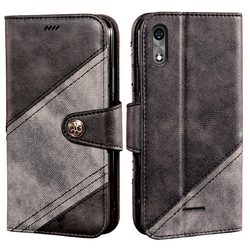 На Алиэкспресс купить чехол для смартфона mobile case for bq-5518g jeans leather wallet book case magnetic shockproof bumper back vintage cover shell