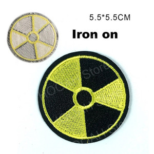 Полоса атомная электростанция радиационный патч Сталкер S. T. A. L. K. E. R. Фракции наёмники Loners атомная энергия значок патч Чернобыль