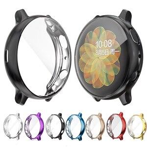 Экран защитный чехол для galaxy Активный 40/44 мм ультра-тонкий мягкий силиконовый чехол для полной защиты чехол для samsung galaxy watch Active 2