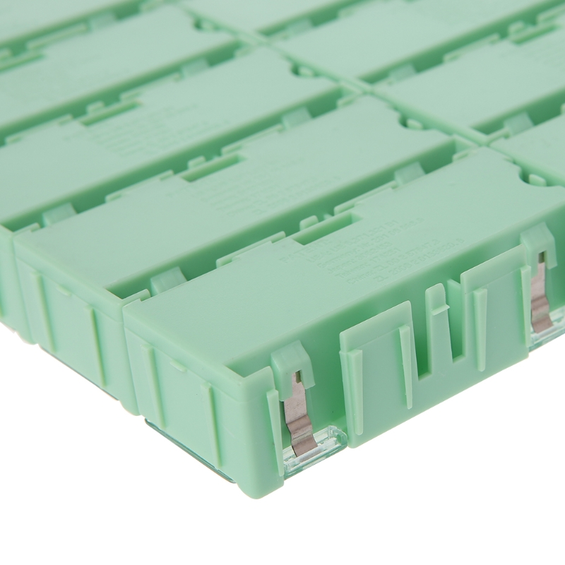 Mini SMD SMT Electronic Box IC Electronic Components Storage Case 75x31.5x21.5mm C63E